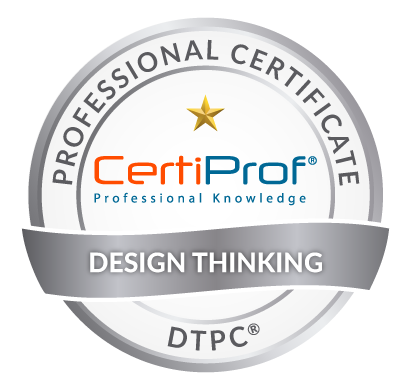 Design Thinking Professional Certificate Certiprof