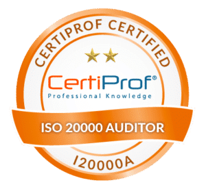 Certiprof Certified iso 20000 Auditor