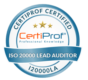 Certiprof Certified iso 20000 Lead Auditor