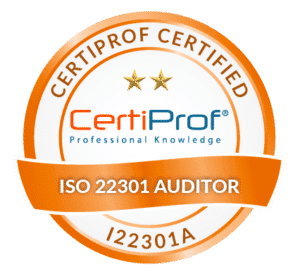 Certiprof Certified iso 22301 Auditor