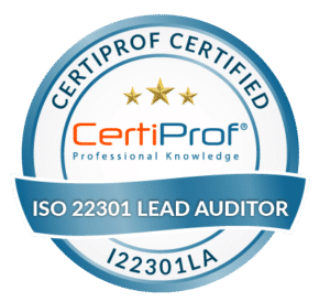 Certiprof Certified iso 22301 Lead Auditor