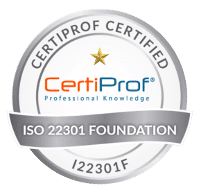 Certiprof Certified iso 22301 foundation