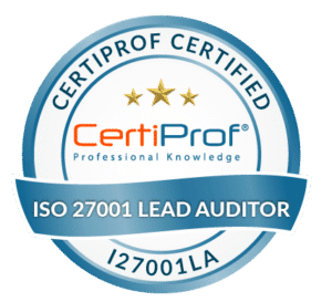 Certiprof Certified iso 27001 Lead Auditor