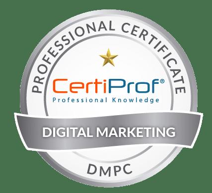 Certiprof Digital Marketing professional certificate