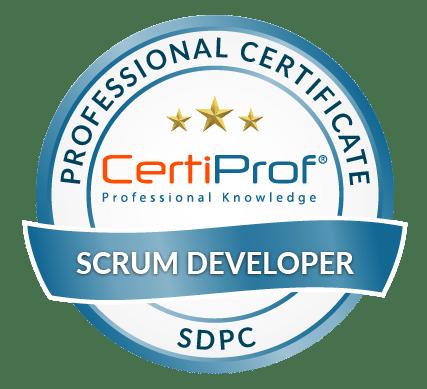Certiprof scrum Developer professional certificate
