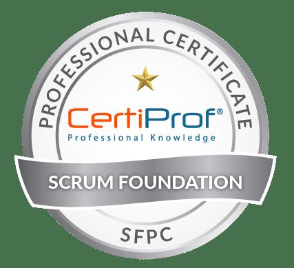 Certiprof scrum Foundation professional certificate