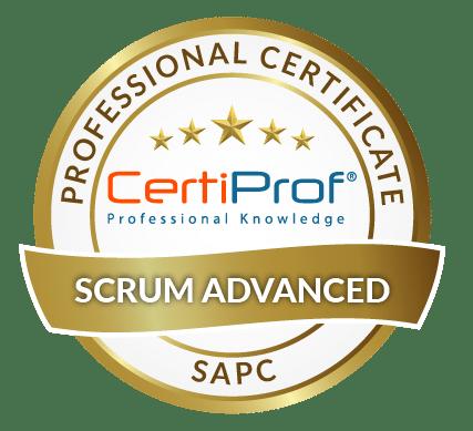 Certiprof scrum advanced professional certificate