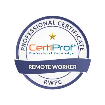 certiprof remote worker professional certificate