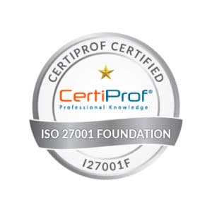 Certiprof Certified iso 27001 foundation Shop