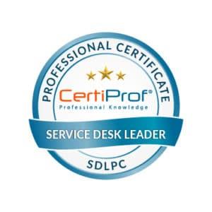 Certiprof_Service Desk Leader professional certificate Shop