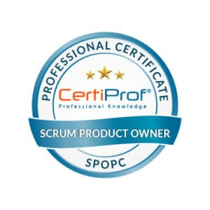 Certiprof scrum Product Owner professional certificate Shop