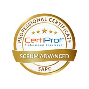 Certiprof scrum advanced professional certificate Shop
