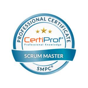 Certiprof Scrum Master Professional certificate SMPC trade mark