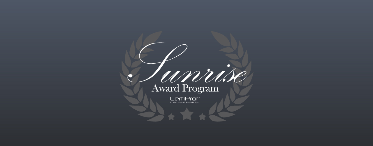 sunrise award certiprof